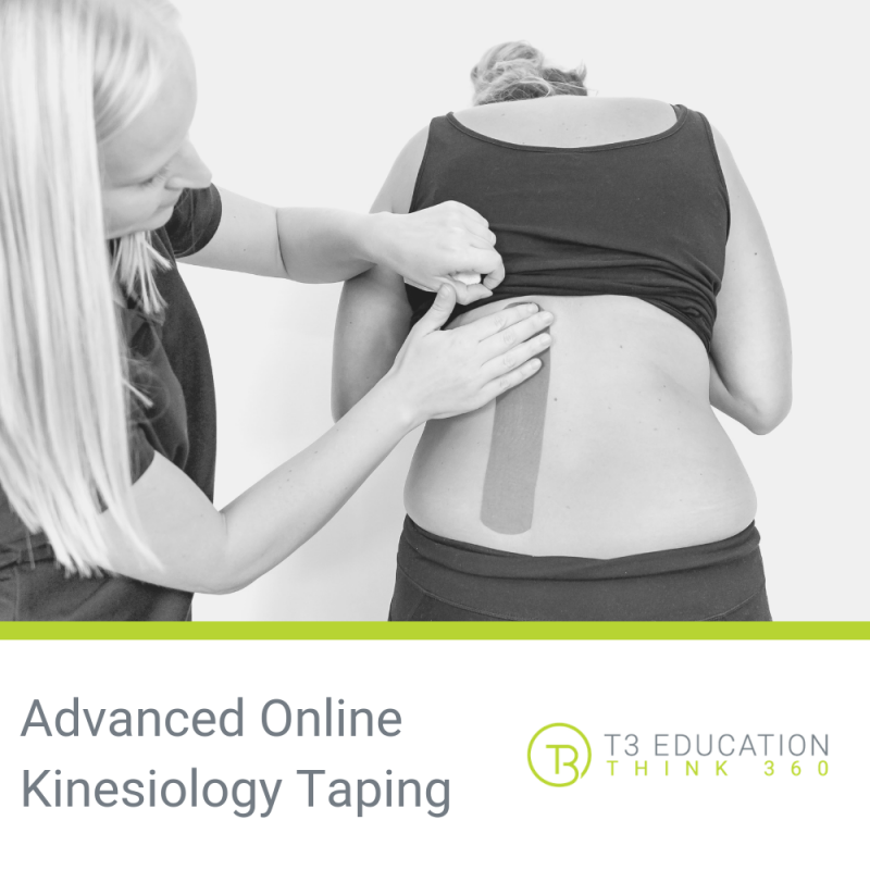 Advanced Online Kinesiology Taping