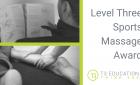 Level 3 Sports Massage Award