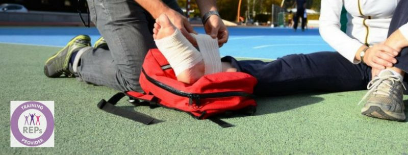 React First Sports First Aid Courses