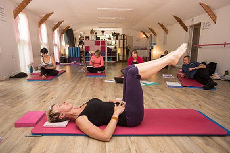 Level 3 Pilates Teacher Training Demonstration