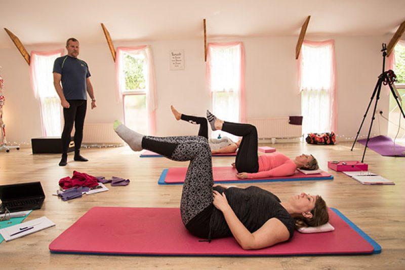 Level 3 Pilates Teacher Training Group Teaching Practice